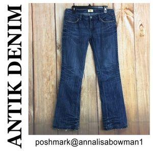 💸Antik Denim Bootcut Jean size 29